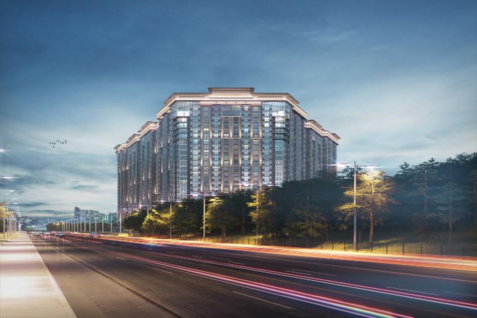 ЖК LENINGRAD объединил архитектурные традиции с современными технологиями. Фото предоставлено пресс-службой компании «Лидер Групп».
