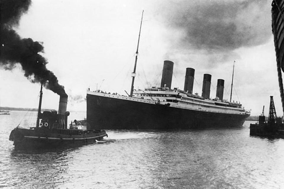 """""""Титаник"""" считался непотопляемым кораблем"""