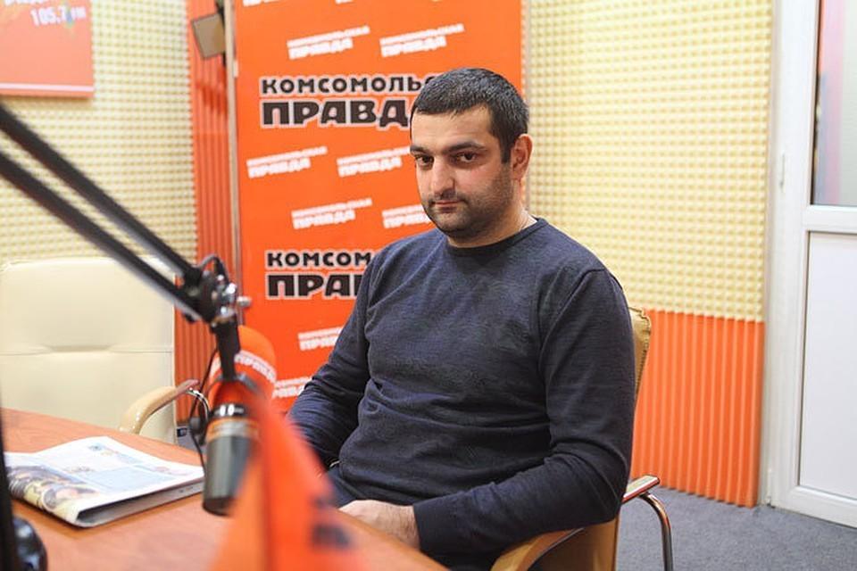 Заведующий кардиохирургическим отделением, руководитель Регионального сосудистого центра Михаил Гаспарян
