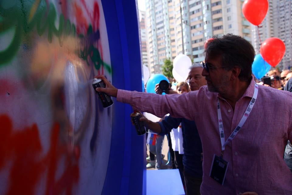 25 тысяч баллонов с краской превратили Новую Трехгорку в сказочный уголок. Фото: предоставлено организаторами фестиваля Urban Morphogenesis