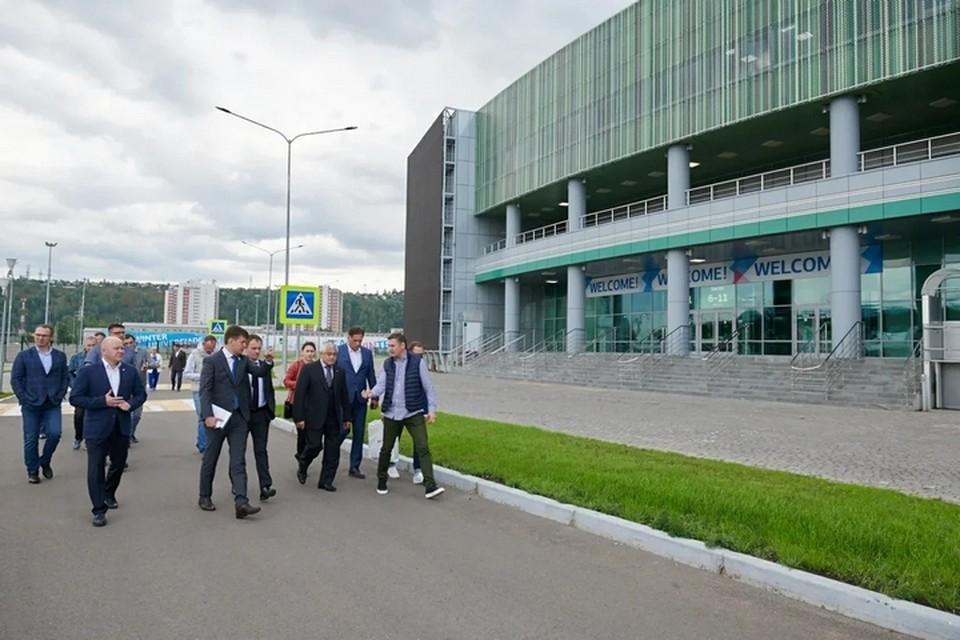 Красноярск претендует на проведение чемпионата мира по спортивной борьбе в 2022 году. Фото: пресс-служба правительства края