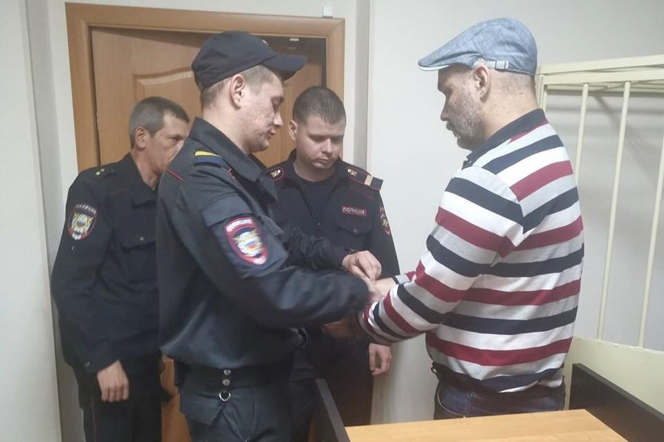 Александр Панов на суде. Фото: Дмитрий Алексеев
