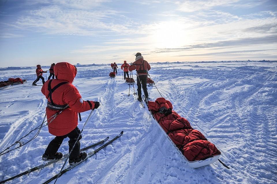 На Северном полюсе построят отель посреди Ледовитого океана
