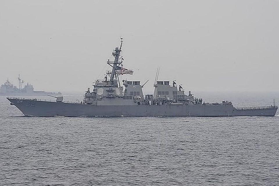 В Черное море зашел многоцелевой ВМС США