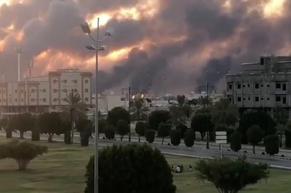 Беспилотники атаковали заводы национальной нефтяной компании Саудовской Аравии Saudi Aramco