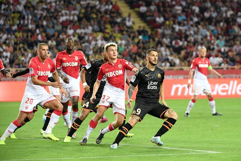 """""""Монако"""" Александра Головина проиграл """"Марселю"""" 3:4."""