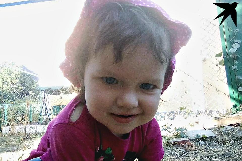 Девочка пошла в сад, когда ей был 1 год и 1 месяц. Фото: из архива семьи Чередниченко.