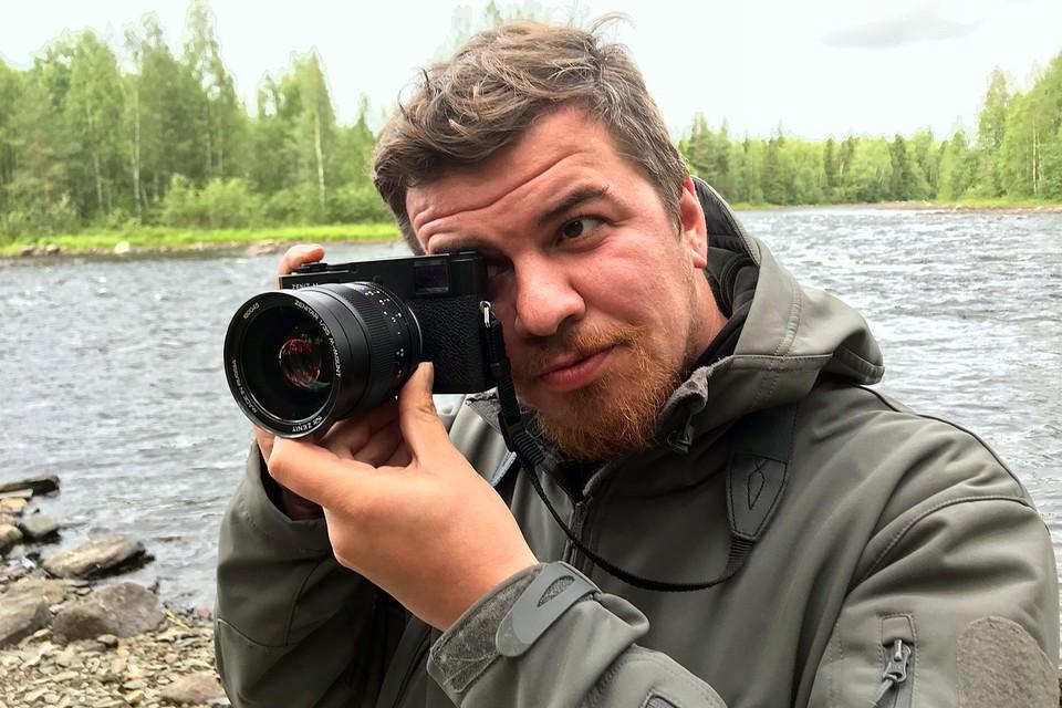 Виктор Гусейнов протестировал камеру «Зенит-М»