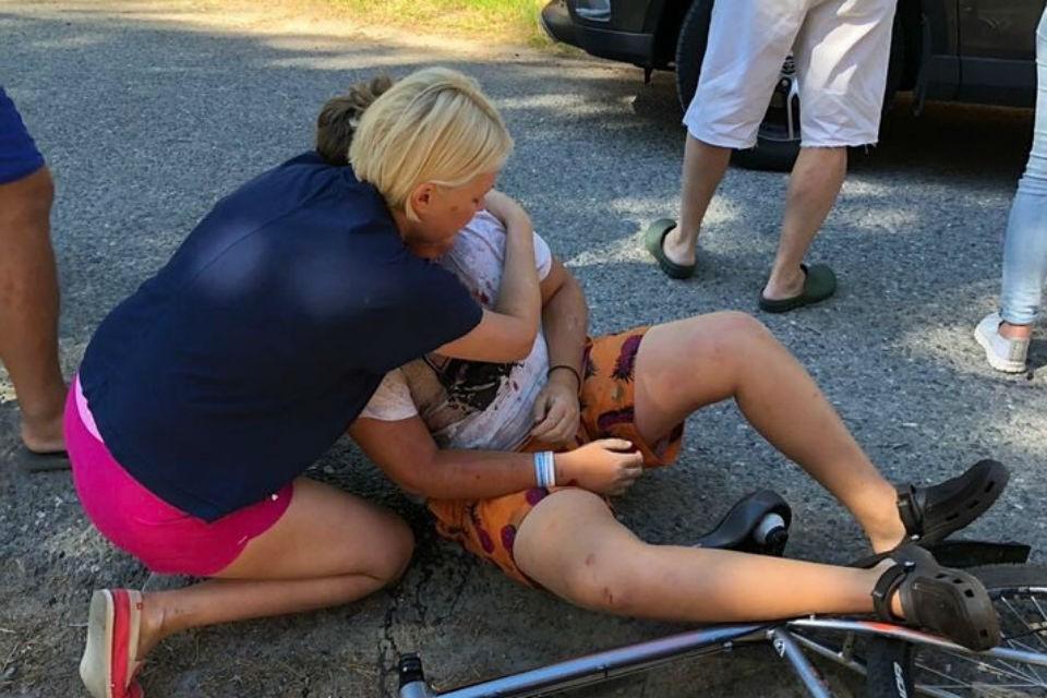 Суду предстоит разобраться, Лилия сбила Генриха или это он врезался в машину.