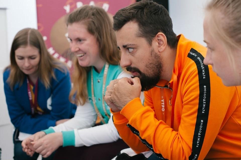 Николай Скипин учить школьников глубоко думать. Фото: Федеральное агентство по делам молодёжи.