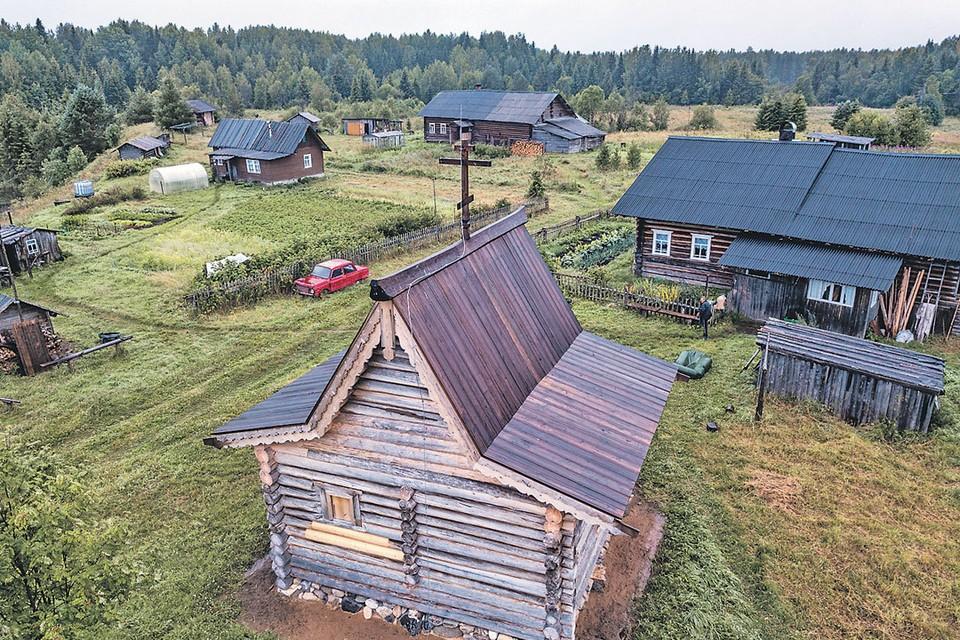 Архангельская деревня Монастырка ожила благодаря реставрации древней часовни.