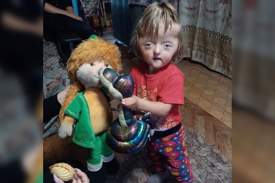 Маленькая София родилась инвалидом