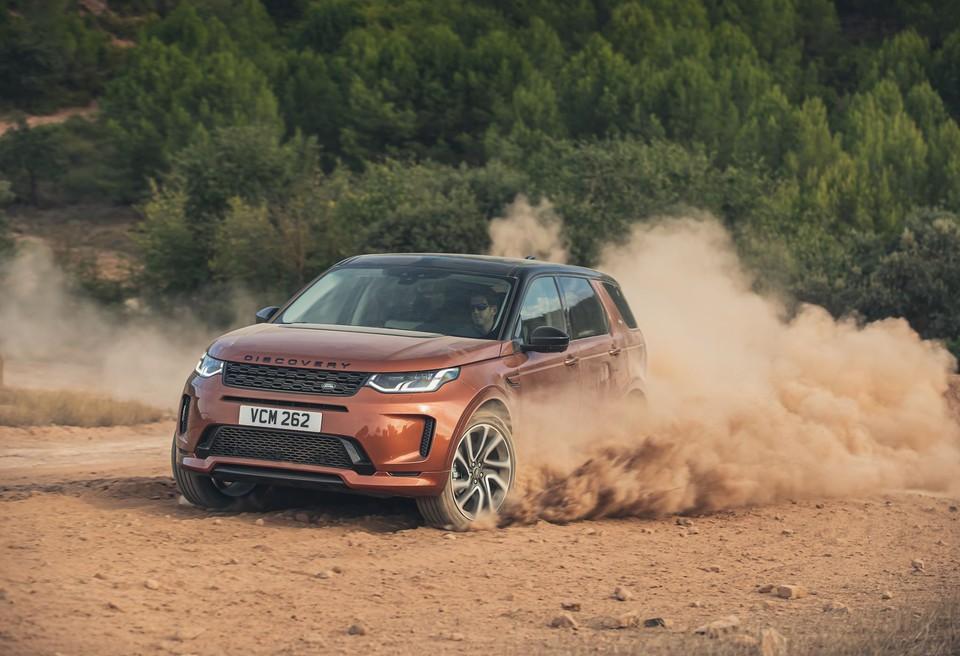 Land Rover Discovery Sport. Фото производителя.