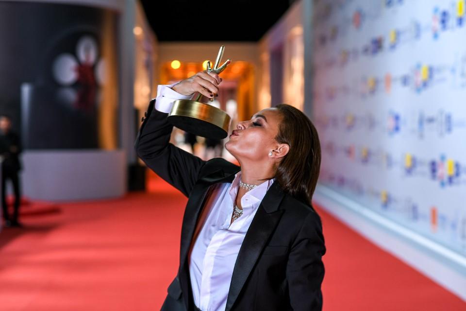 Тунисско-египетская звезда Хинд Сабри удостоилась приза за лучшую женскую роль за фильм «Мечта Нуры». Фото: предоставлены фестивалем.