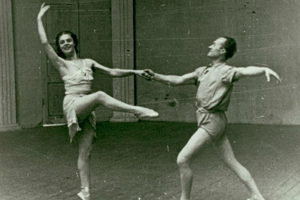 Наталия Сахновская и Роберт Гербек. Фото: Государственный музей обороны и блокады Ленинграда