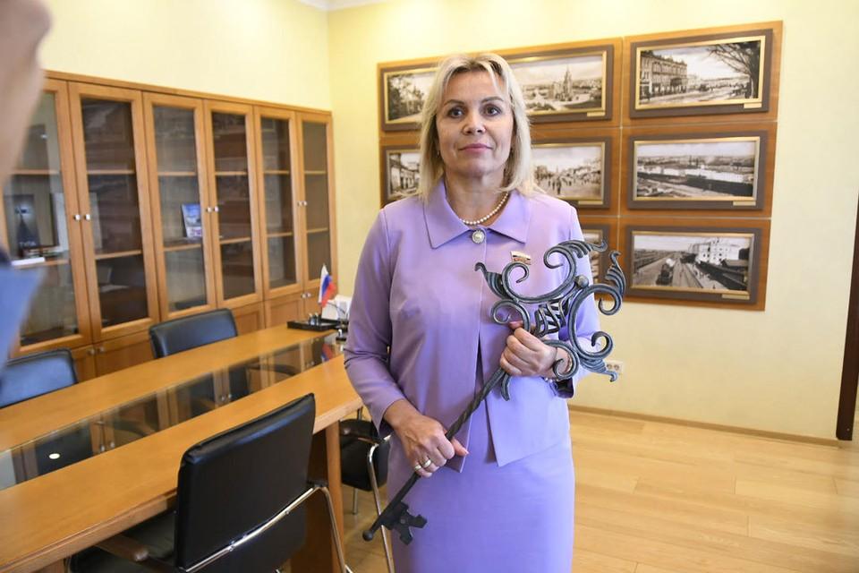 Ольга Слюсарева, завоевавшая на велодромах мира множество золотых медалей, теперь держит в руках ключ от города оружейников.