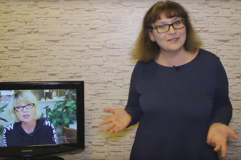 """В новом выпуске """"Училки"""" первой к доске пошла актриса и телеведущая Юлия Меньшова."""