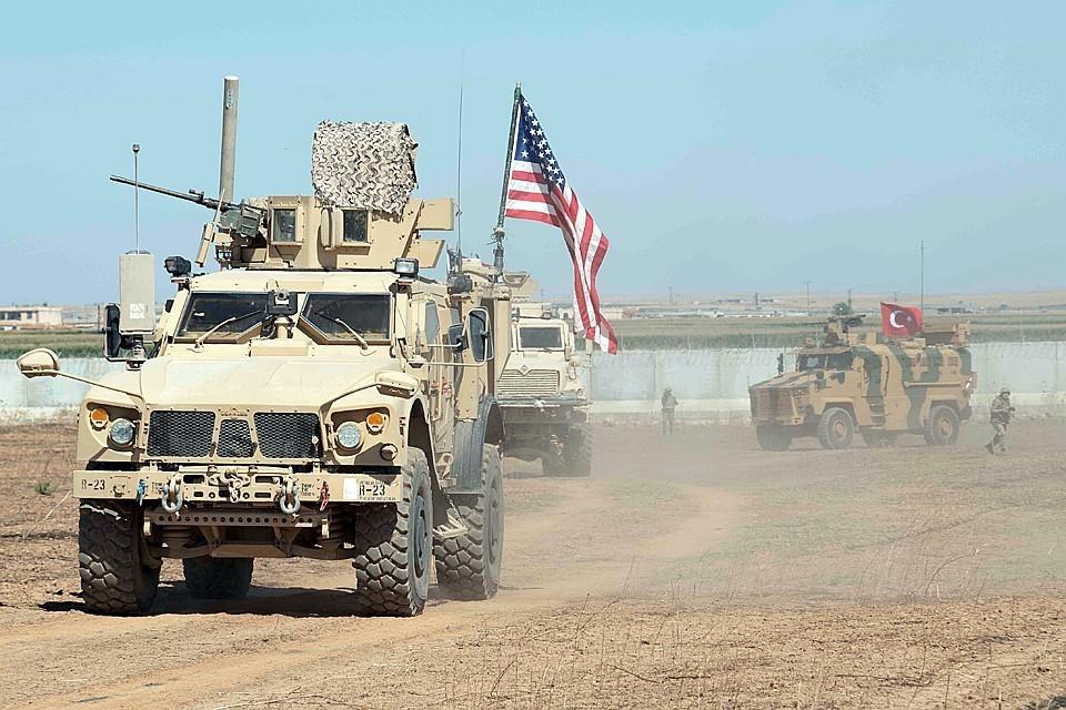 Пентагон заявил о выводе войск из района потенциального наступления Турции в Сирии