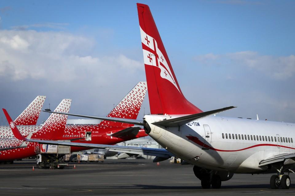 Самолетам Georgian Airways закрыли доступ в российское небо.