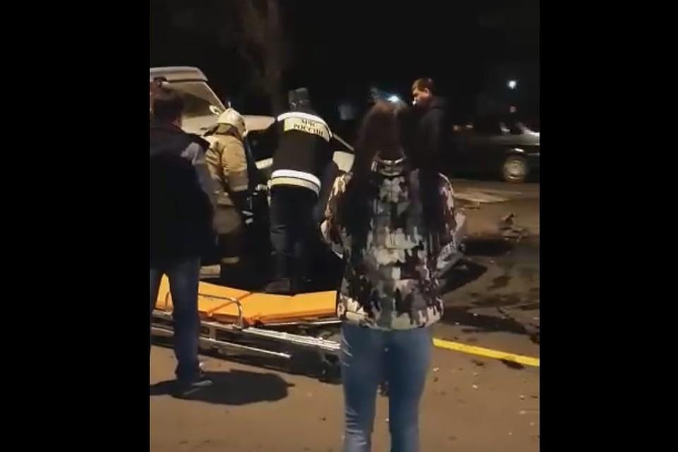 Как и утверждали очевидцы, за рулем «Шевроле» был местный участковый