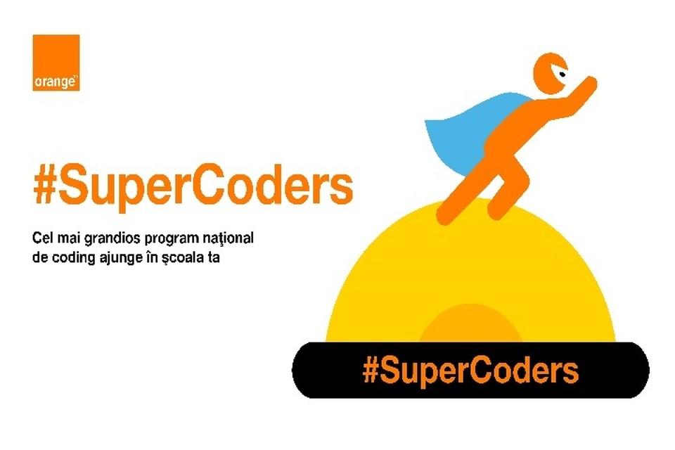 Информационно-образовательный Центр oбъявляет о проведении крупнейшего проекта программирования в Молдове - Orange #SuperCoders