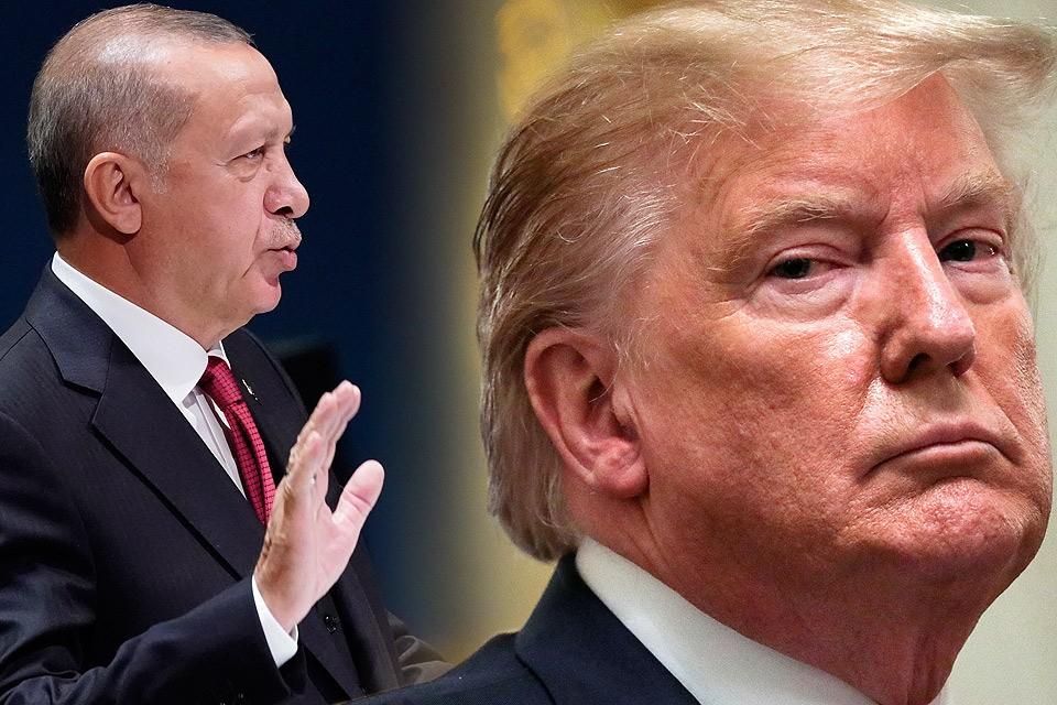 Эрдоган выбросил в корзину письмо американского президента.