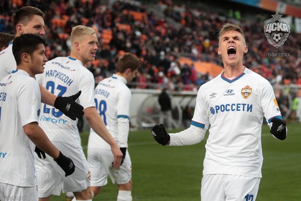 ЦСКА отстает от четырех лидирующих в РПЛ клубов на одно очко. Фото: ФК ЦСКА.