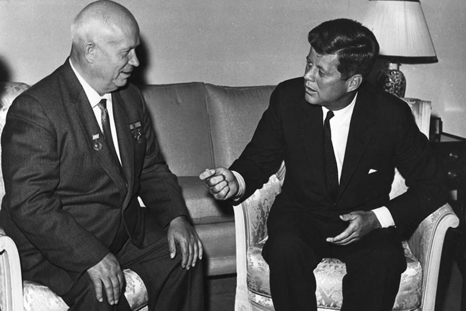 Встреча Хрущева и Кеннеди в 1961 году.