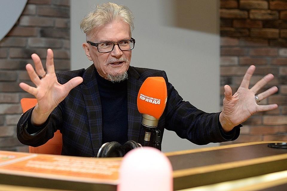 Эдуард Лимонов в гостях у Радио «Комсомольская правда».