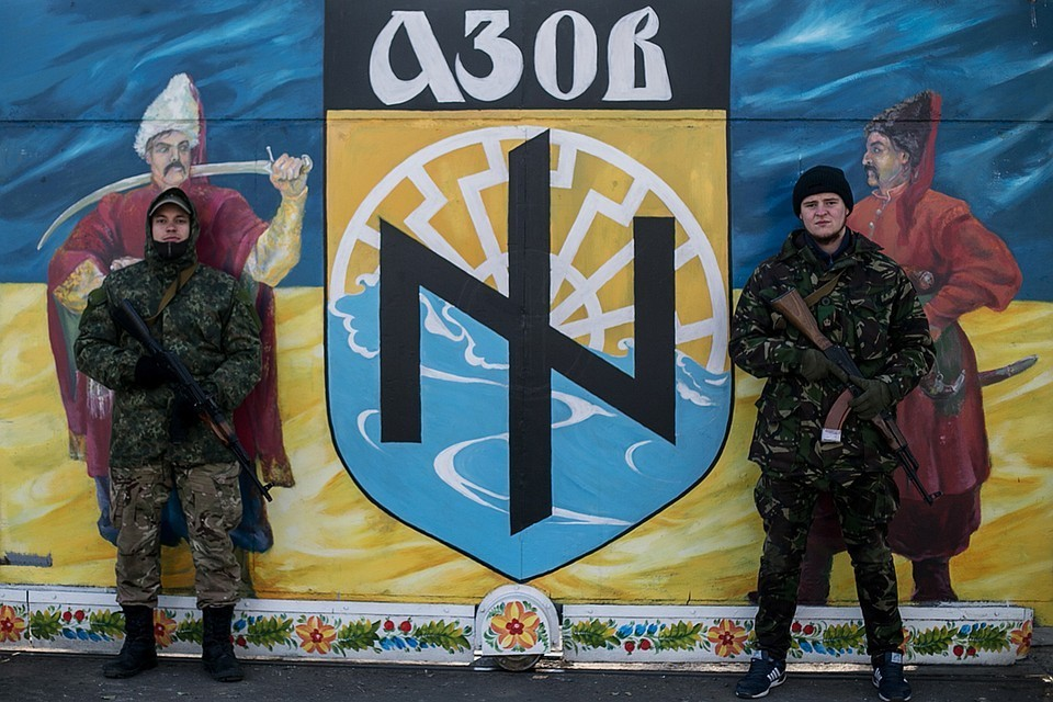«Азов» - ультранационалистическая организация, которая открыто приветствует неонацистов в своих рядах. Фото: Степан Петренко/ТАСС