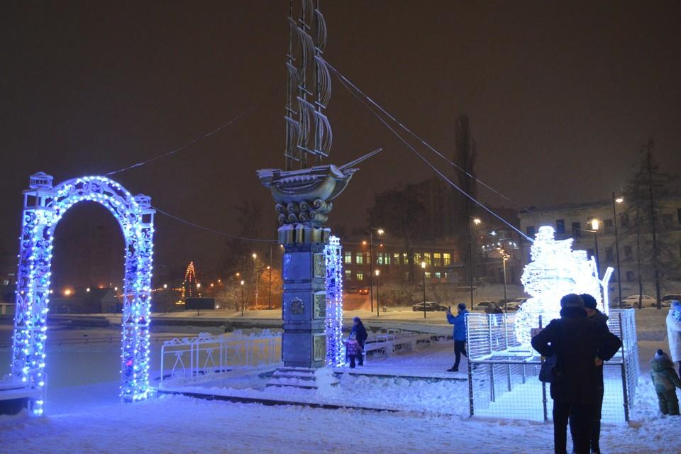 Липчан просят разработать концепцию новогоднего оформления города