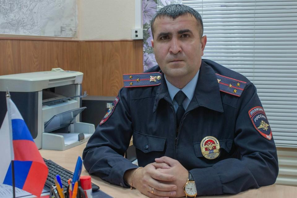 Александр Старинин стал лучшим стражем порядка Кольского края. Фото: УМВД России по Мурманской области.