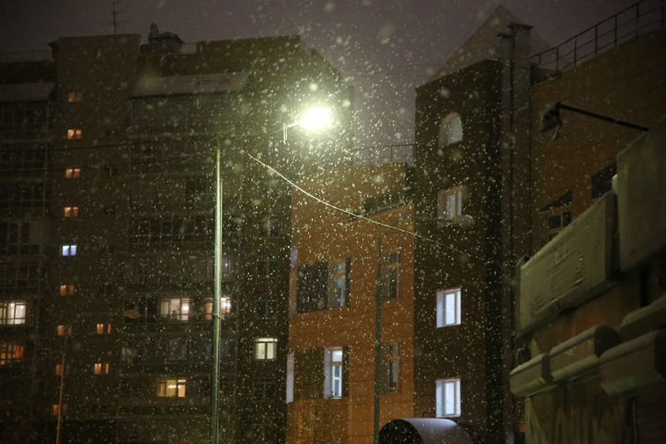 В ближайшие сутки снегопад продолжится Фото: Диана ИВАНОВА