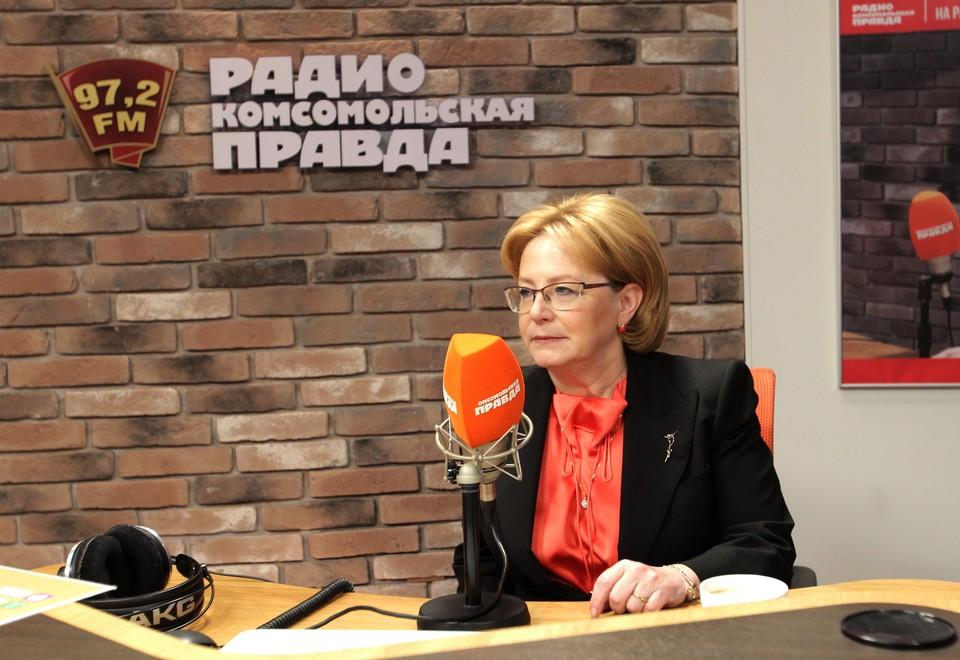 Скворцова сообщила, что смертность от инсультов в России снизалась в два раза
