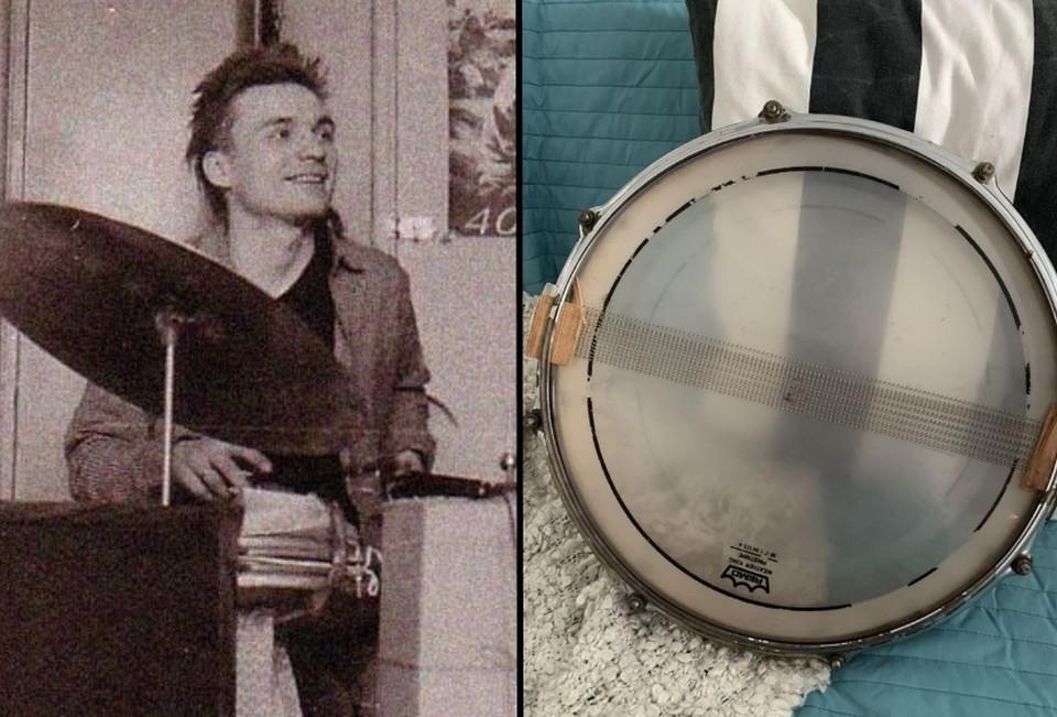 Гурьянов очень любил этот малый барабан и часто просил его у владельца студии звукозаписи, который сейчас и является хозяином раритета. Фото: avito.ru