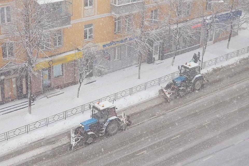 Липецк готовится к зиме: на борьбу со снегом выйдут 120 единиц техники