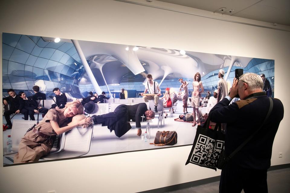 ВКонтакте вместе с 5-й Уральской индустриальной биеннале современного искусства подготовили для посетителей авторский аудиогид. Фото: vk.com/uralbiennial