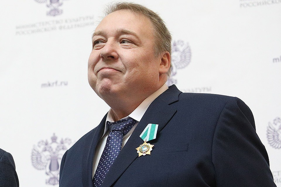 Актер Александр Семчев. Фото Андрей Гордеев, Ведомости/ТАСС