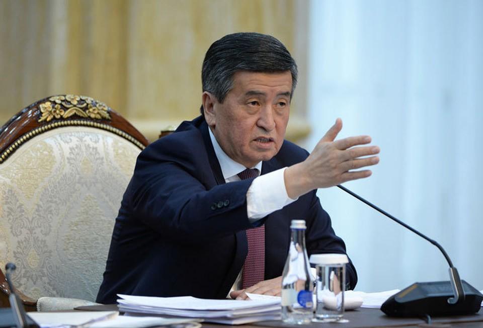 Сооронбай Жээнбеков ответил на вопросы руководителей СМИ.