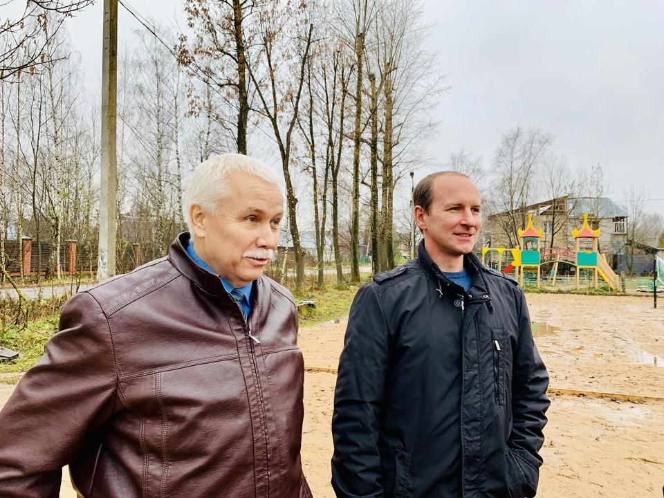 Депутаты рассказали журналистам о новом стадионе в Затверечье.