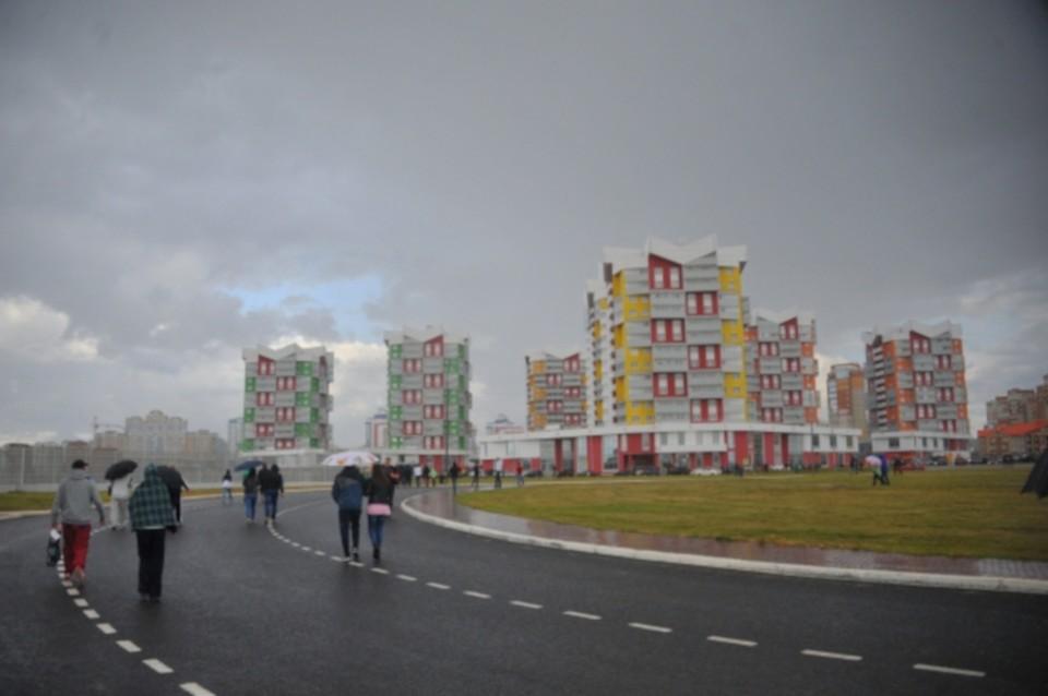 Саранск строится.