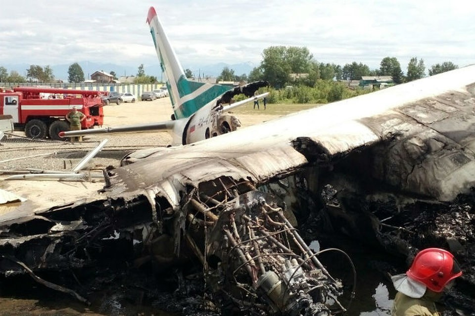 Пассажирам разбившегося в Бурятии Ан-24 до сих пор не выплатили страховки