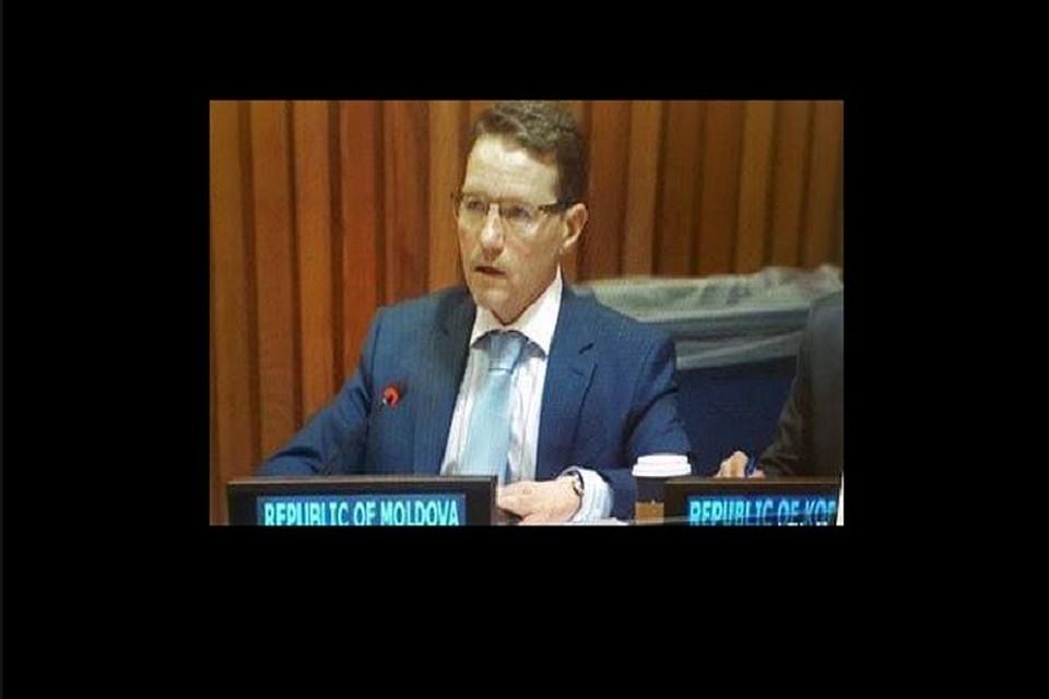 Представитель Молдовы в ООН Виктор Морару не голосовал против нацизма. (Фото: соцсети).