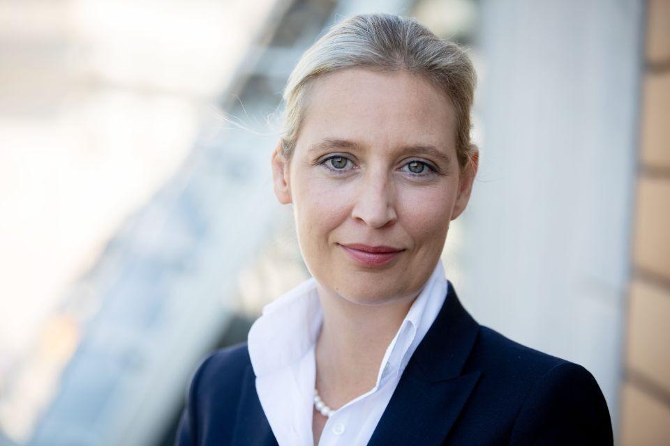 Uлава фракции партии «Альтернатива для Германии» в Бундестаге Алиса Вайдель