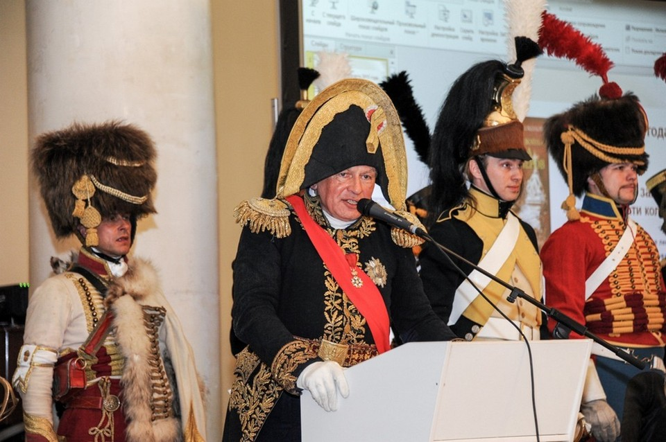По словам людей, знавших его близко, Олег Соколов был одержим образом Наполеона Бонапарта. Фото: СПбГУ