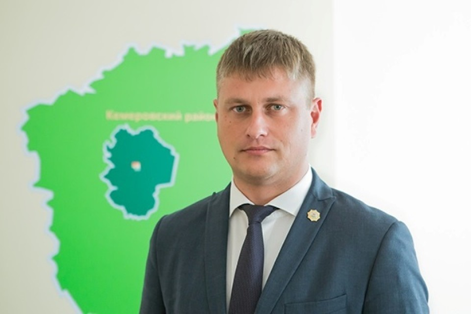 Новый мэр Юрги официально вступил в должность. ФОТО: пресс-служба Кемеровского муниципального района.