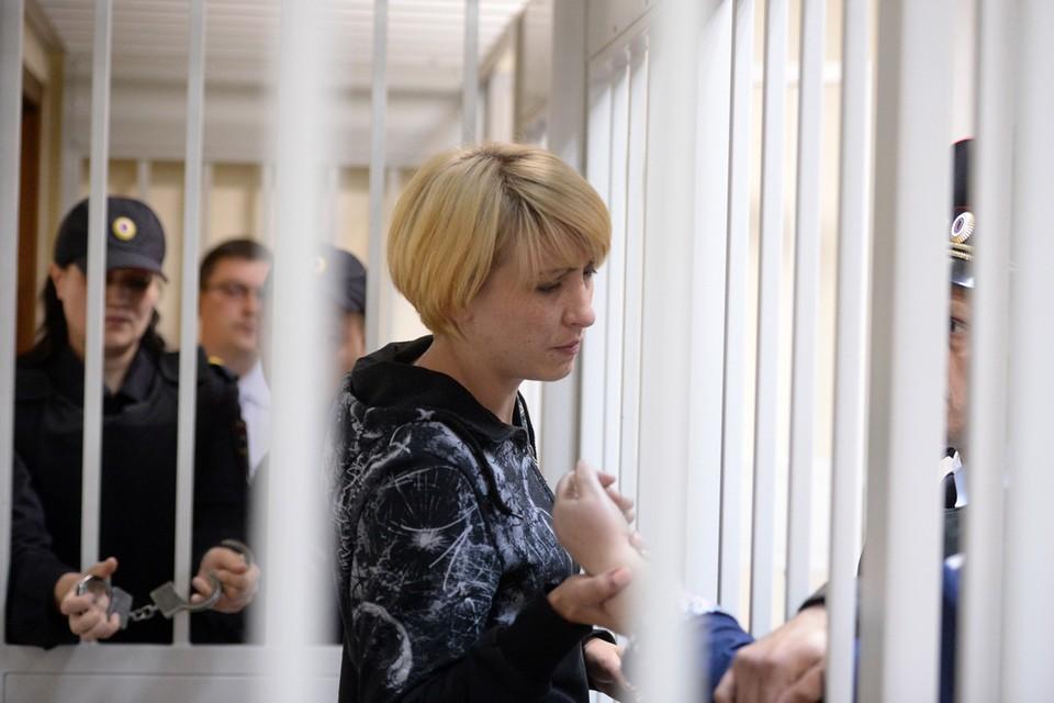 В понедельник, 11 ноября, вышла на свободу Ольга Алисова. Фото: Дмитрий Серебряков/ТАСС