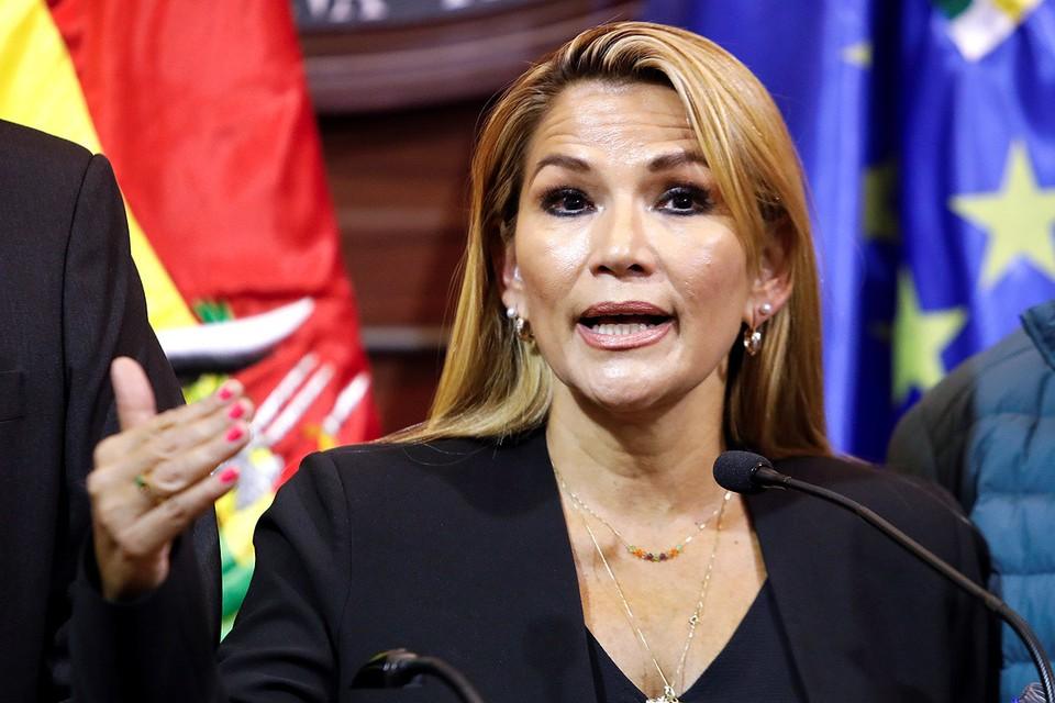 Жанин Аньес возглавила Боливию.