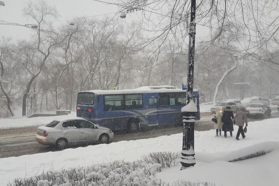 Синоптики обещают ухудшение погодных условий из-за сильного снега с дождем