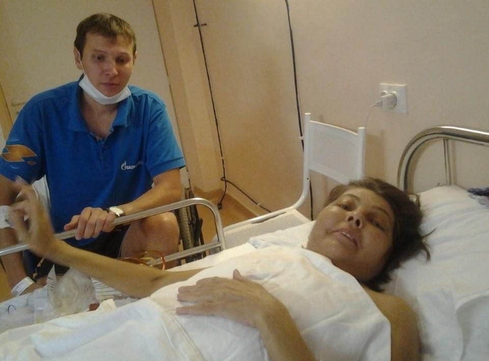 В Красноярске сын отдал маме больше половины печень, чтобы спасти от гибели. Фото: краевая клиническая больница Красноярска.